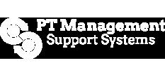 PTM logo - white