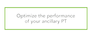 Optimize the performance of your ancillary PT